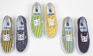 Vans for Kenzo Sneakers – Fall Winter 2012