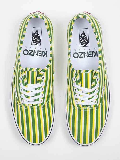 Kenzo Vans Fall 2012 Stripes