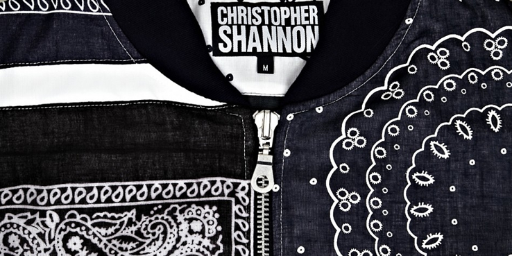Christopher Shannon Bomber Jacket