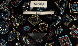 Kenzo – Medallion Print Button Down Shirt