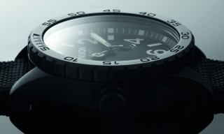 Nixon Watches – All Black Nylon Collection