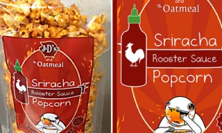 Sriracha Popcorn – 'All Natural' Hot Sauce Snack