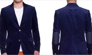 Band Of Outsiders Two Button Corduroy  Blazer
