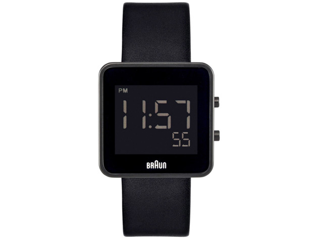BRAUN BN-46BK Mens Digital Watch