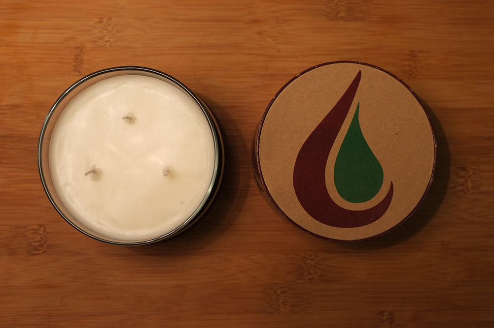 Chilanthropy Candles Made from Ecosoya