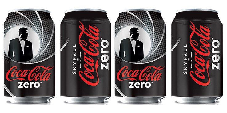 Coca-Cola Zero Limited Editions for James Bond - Skyfall