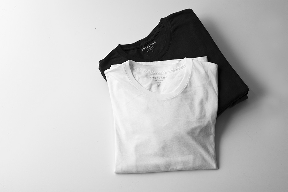Everlane Basic T-Shirts - Made in the U.S.A.