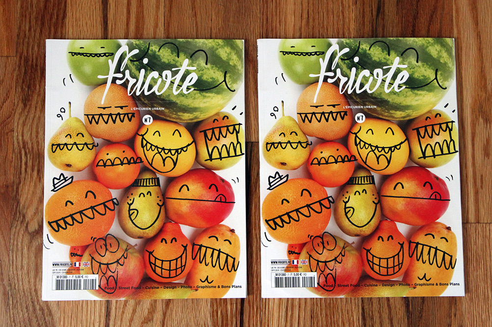 Fricote Issue #7 - French Urban Food and Cuisine Magazine