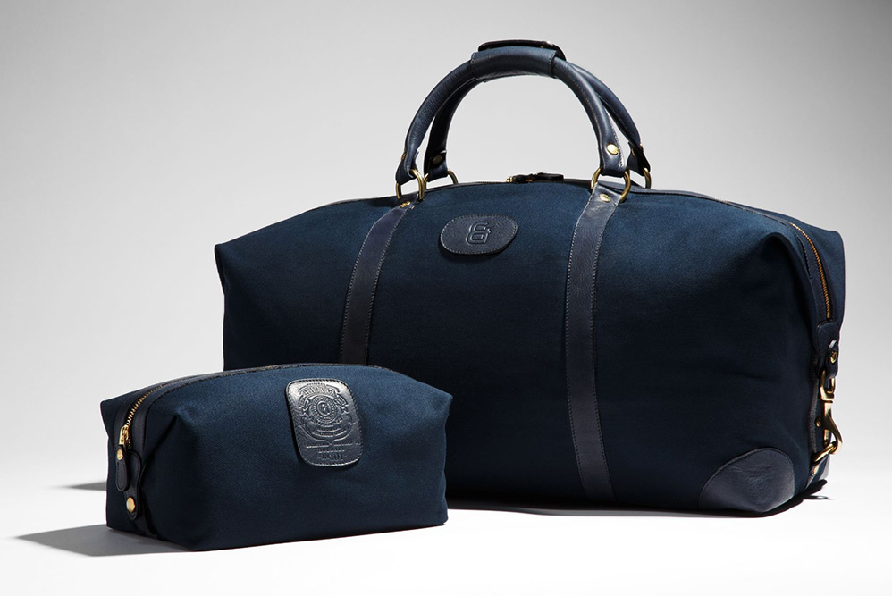 Ghurka Weekender and Dopp Kit for P&B