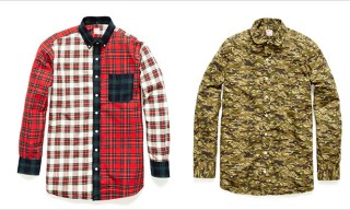 Hamilton 1883 for Project Wooster Camo and Plaid Shirts