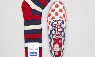 Happy Socks for Keds – Polka Dot Shoes n' Socks Pack