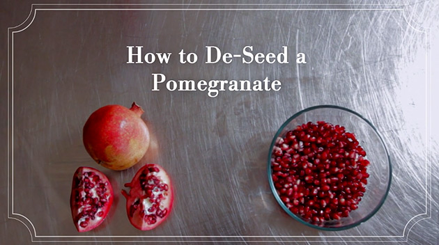 How to De-Seed a Pomegranate Fruit