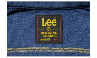 Reigning Champ for Lee Riders Jackets – Jersey Material