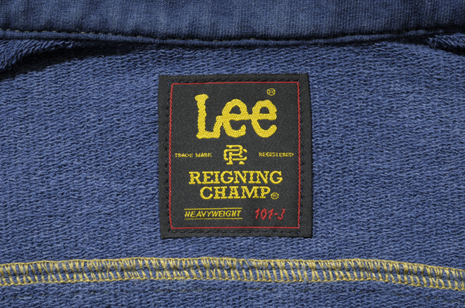 Reigning Champ for Lee Riders Jackets