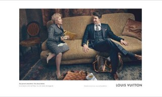 Michael Phelps for Louis Vuitton Campaign Images