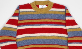 Edifice Crew Neck Lambswool Sweaters for Present