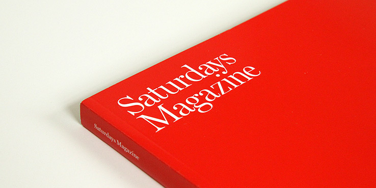 Saturdays Magazine Issue #1 - A Look Inside