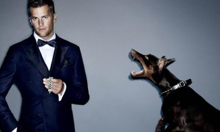 Tom Brady by Mario Testino for VMAN – Fall Winter 2012