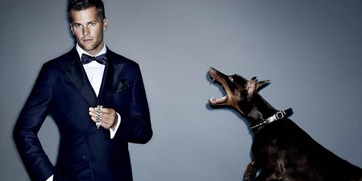 Tom Brady by Mario Testino for VMAN - Fall Winter 2012