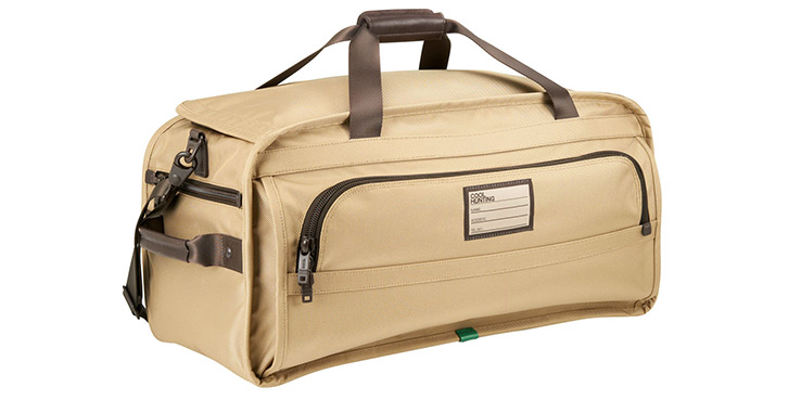 TUMI Alpha Medium Duffle for Cool Hunting - On Safari