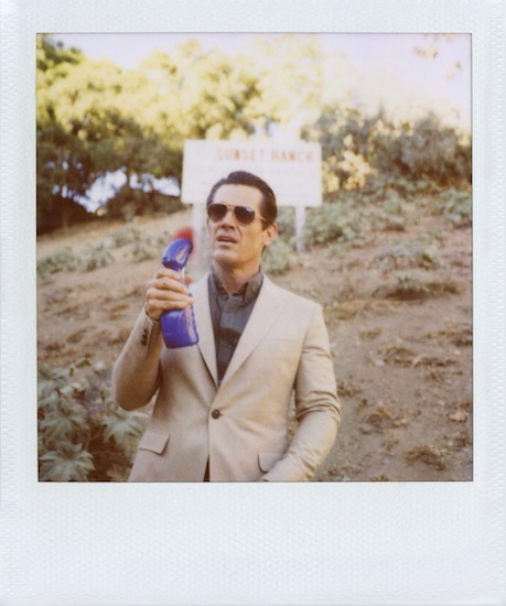 Band of Outsiders - Josh Brolin FW12