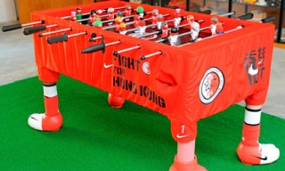 "Michael Lau ""Hong Kong Fight"" Foosball Table for Nike"