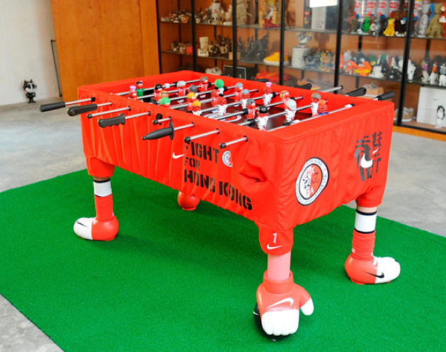 Michael Lau Hong Kong Fight Foosball Table for Nike