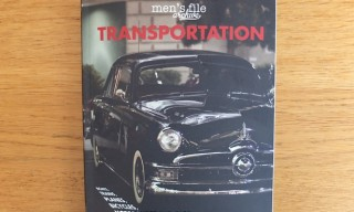 Men's File 'Transportation' Photography Book – A Look Inside