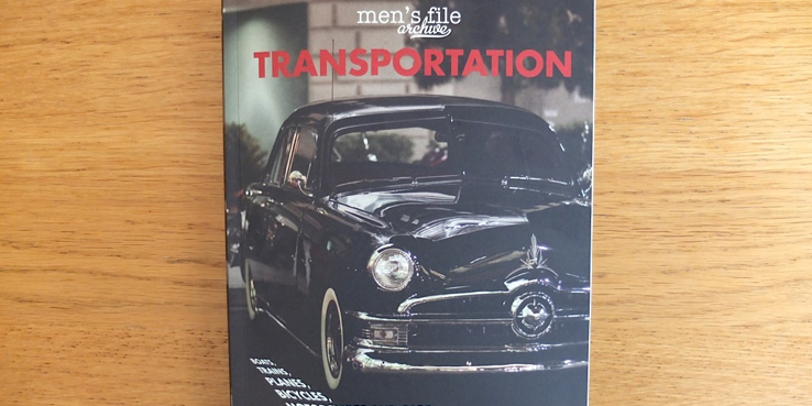 Men's File Transportation Book