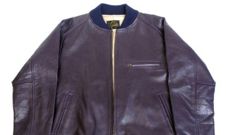 Needles Fall Winter 2012 BB Leather Jacket