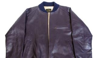 Needles Fall Winter 2012 BB Leather Jacket