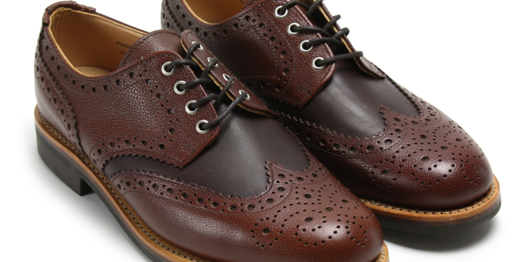 Oliver Spencer brogue
