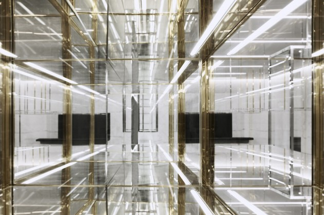 Saint Laurent Paris New Shanghai Store - Look Inside