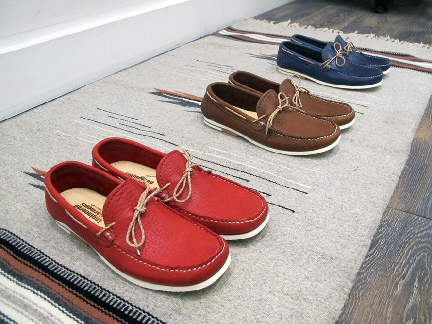 Engineered Garments Boat Shoes for 2012