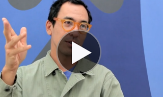 Geoff McFetridge 'Around us & Between us' Exhibition, London