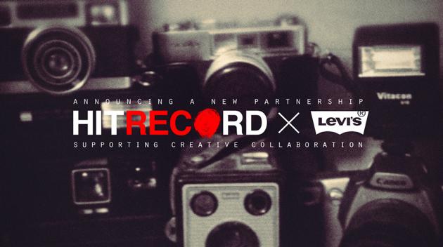Levi partners with Joseph Gordon Levitts hitRECord Production Company