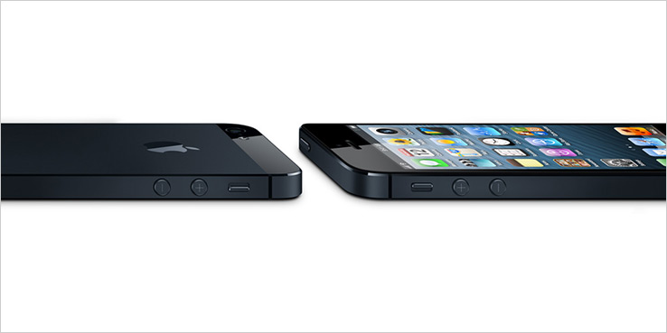 All New Apple iPhone 5 - Anodized Black, Thinner, Lighter