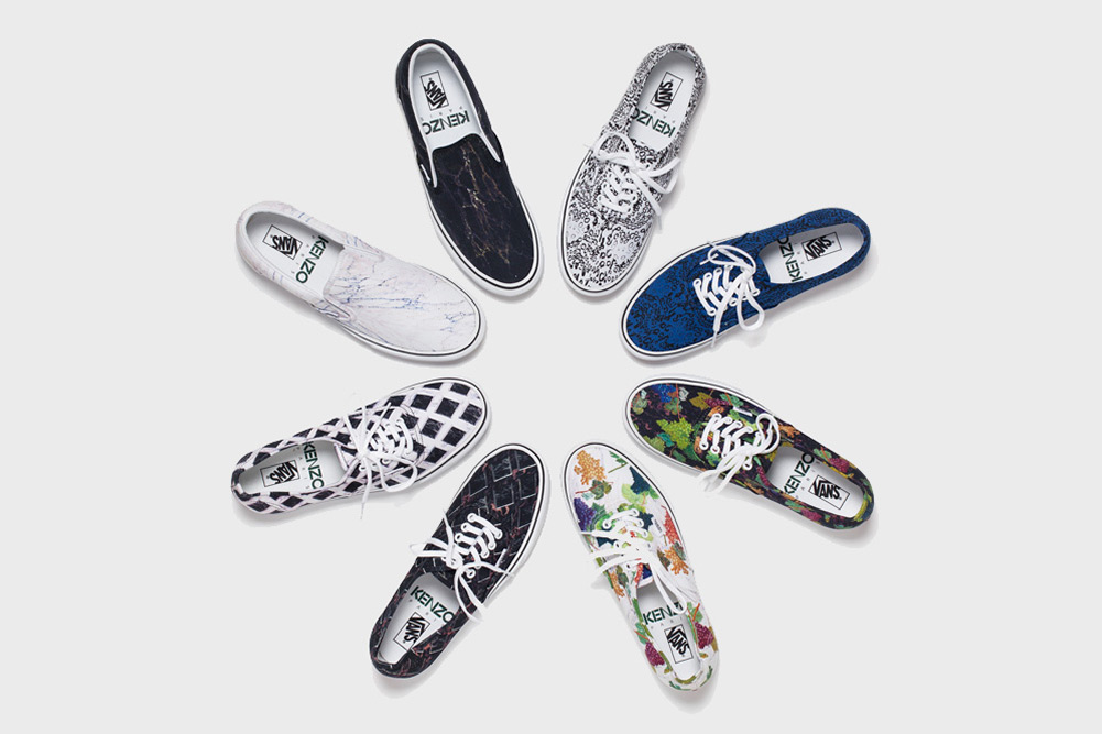Vans for KENZO Sneakers – Fall Winter 2012 – Another Look