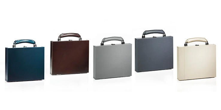 Lanvin Gangster Suitcases