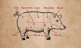 Chasing Delicious – Beef, Pig, and Lamb Cuts Posters