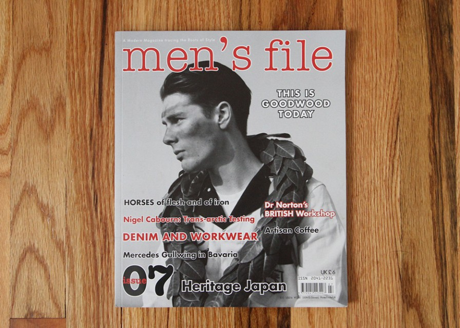 Men's File Magazine Issue 7 - A Look Inside