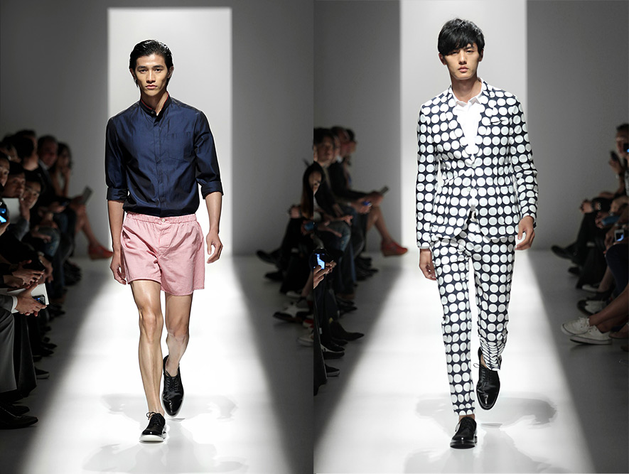 Pierre Balmain Spring Summer 2012 - Men's and Women's - All Looks