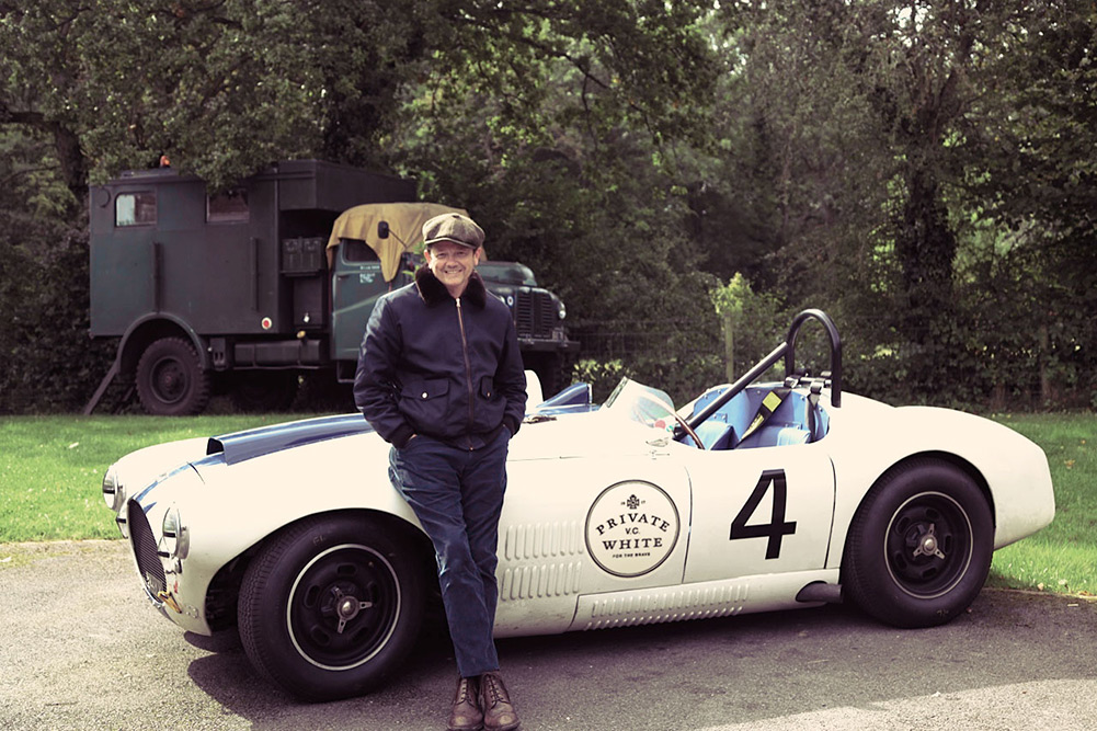 Private White V.C. A2 Nylon Jacket - The Goodwood Revival Festival