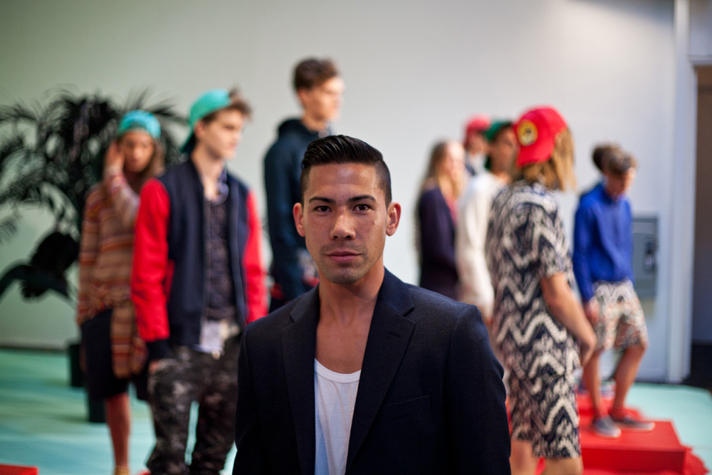 Shades of Grey by Micah Cohen - Spring Summer 2013 - Presentation