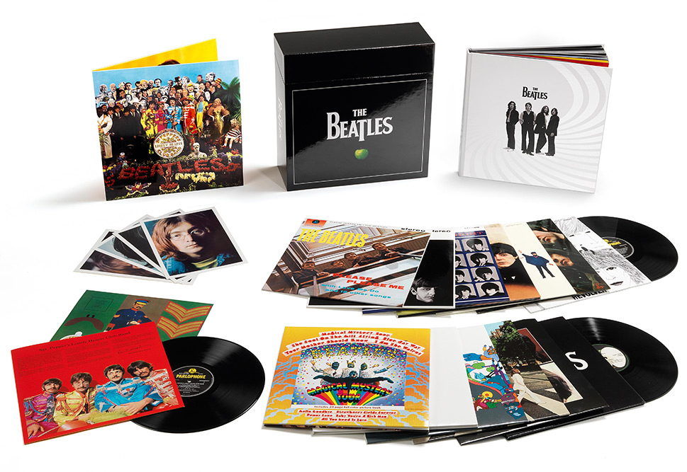 The Beatles Studio Album 180g Vinyl Remaster Boxset - A Look Inside