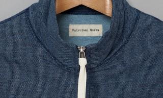 Universal Works Hope Gillet Indigo Fleece Vest