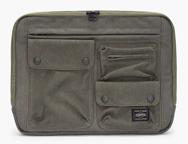 White Mountaineering Cargo Laptop Case