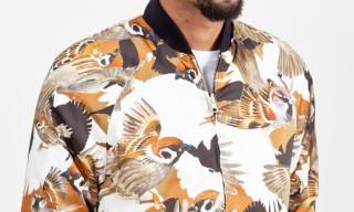 Common – Sparrow Print Lars Jacket