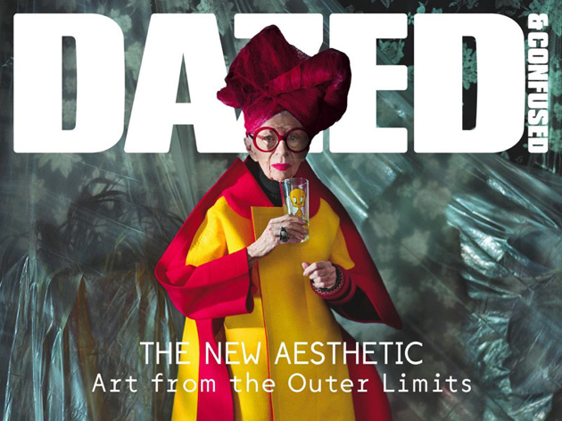 Dazed & Confused November Issue   Iris Apfel in Comme des Garcons