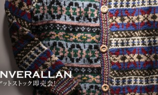 Inverallan Mixed Pattern Knitwear collection for SHIPS